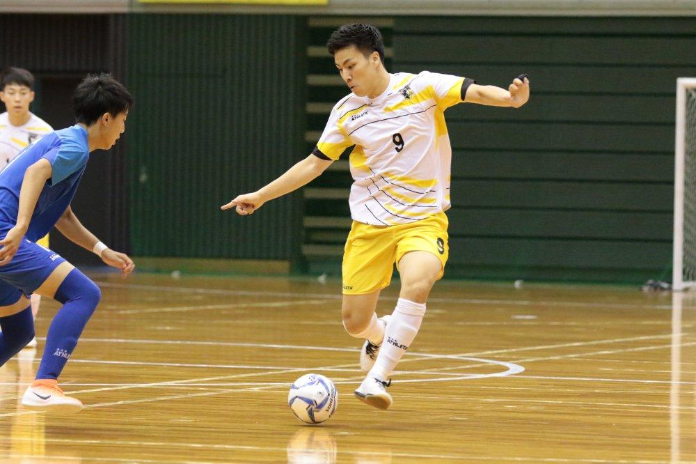 【U18選手権】決勝進出につながる先制弾のFP毛利元亮「甲斐さんを胴上げできるよう、勝ちにこだわる」