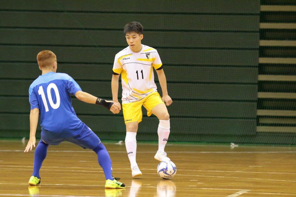 【U18選手権】初優勝に自信を見せる町田U-18 FP甲斐稜人「決められるところを決めれば、難しい試合にはならない」