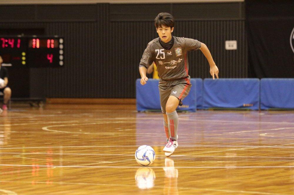 【U18選手権】起死回生の同点弾も悩めるロンドリーナFP薮内涼也「気持ちのコントロールが難しい」