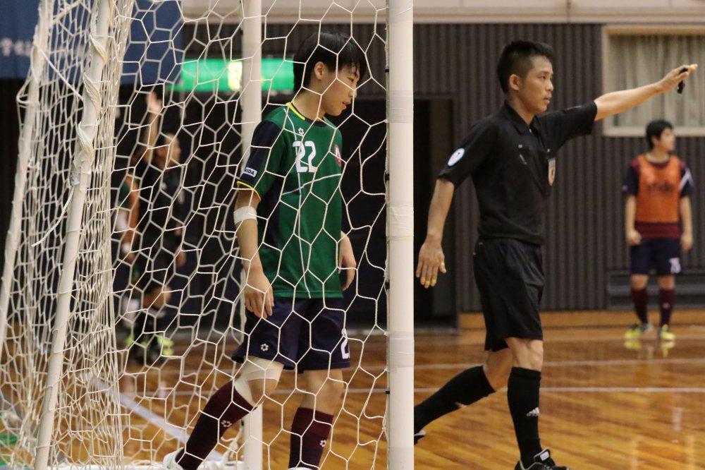 【U18選手権】まさかの予選敗退となったすみだファルコンズ FP鈴木翔太「自分たちがビビっちゃっていた」