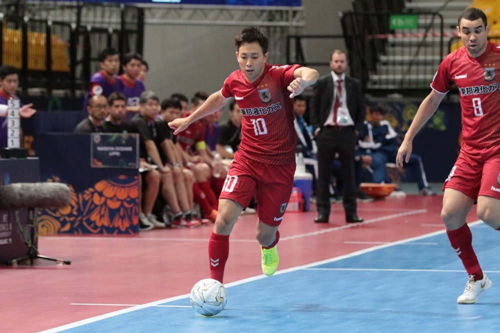 【AFCクラブ選手権】短い出場時間に悔しさを示すFP橋本優也「早く練習がしたい」