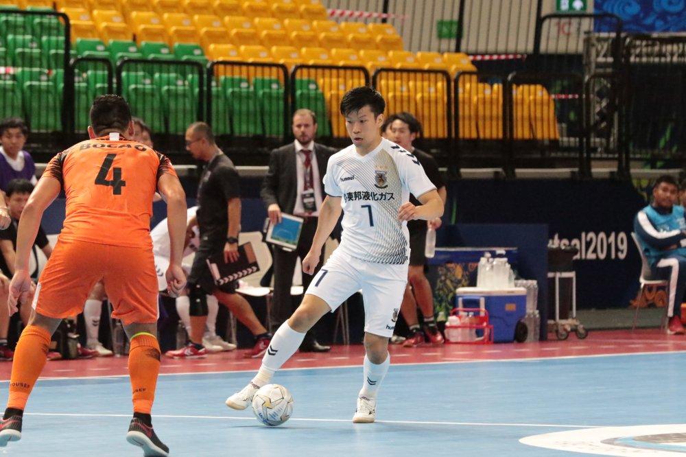 【AFCクラブ選手権】バモスFCの速攻を警戒するFP安藤良平「ボールを持ち続け、しっかり攻撃をフィニッシュで終える」