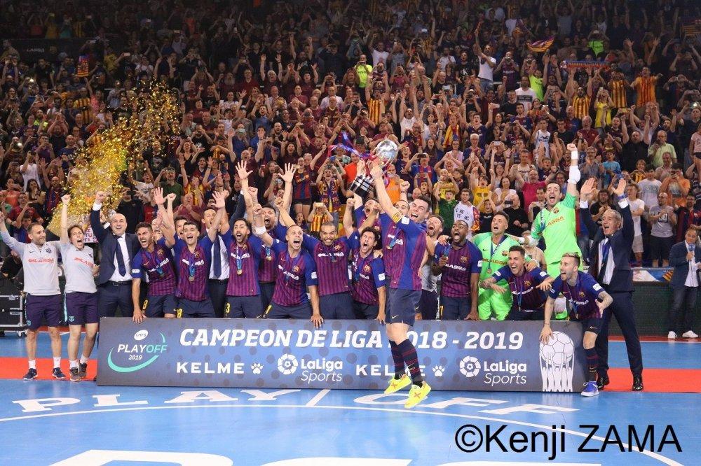 【スペイン】サポーターの大きな後押しを受け、バルセロナが国内3冠、4度目のリーグ制覇