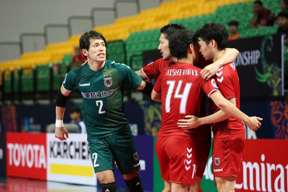 【AFCクラブ選手権】数的優位の時間にゴールを挙げたFP星翔太「ここ2試合はピヴォとしてチームに貢献できてない」