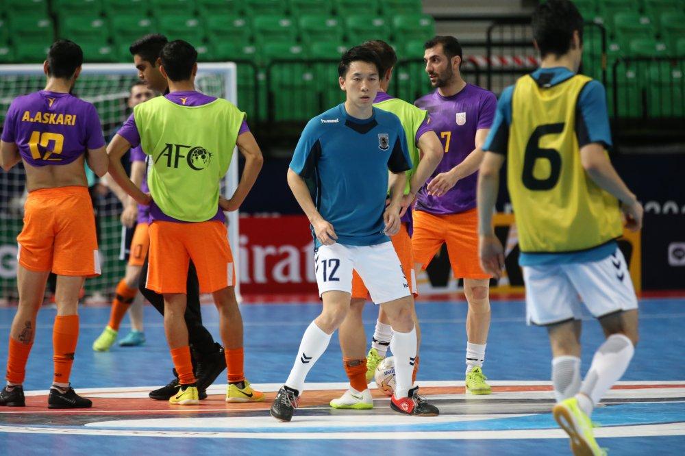 【AFCクラブ選手権】最後の2試合をベンチから見たFP笠井大輝「まずは体を大きくしたい」