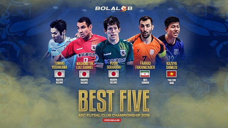 【AFCクラブ選手権】BOLALOBが大会ベスト5を発表! 優勝の名古屋から3選手を選出