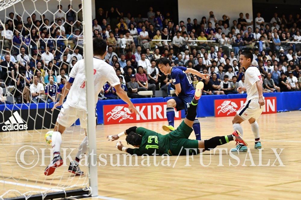 【親善試合】タイ戦3戦連発のFP加藤未渚実「これ以上、タイに負けることはできない」