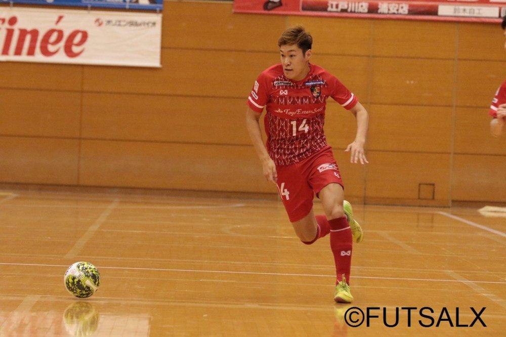 【F1】石田健太郎の2試合連続ゴールなどで浦安がF選抜に快勝