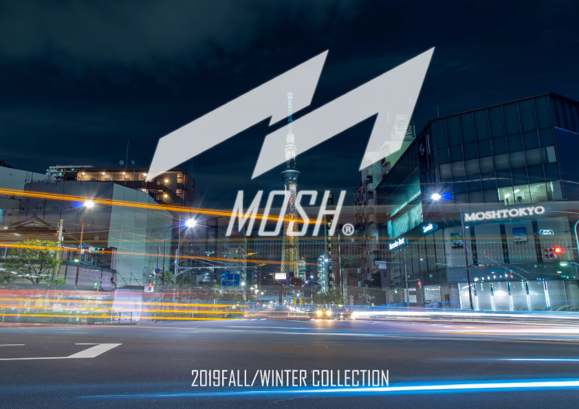 【グッズ】MOSH(モッシュ)、今、業界で話題のブランドが2019FWの販売を開始!