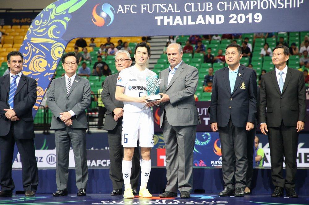 【ACL】今年の年間最優秀選手は名古屋FP吉川智貴、日本人史上3人目の受賞