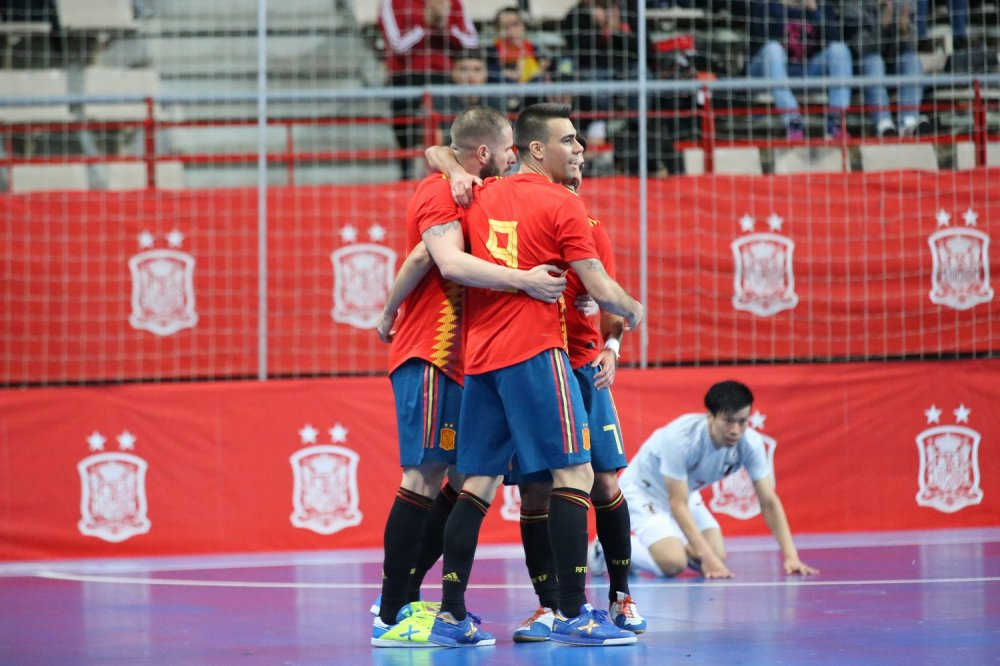【親善試合】日本はFP内村俊太が1ゴールも、スペインに9失点の大敗