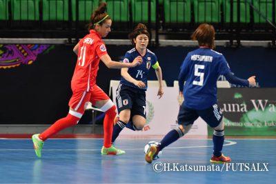 【女子】フットサル女子日本代表FP藤田実桜が海外移籍を目指し、スペインのクラブの練習に参加