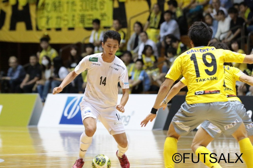 【F2】元U-20フットサル日本代表FP山田凱斗が浜松を退団「今後も選手として頑張っていきたい」