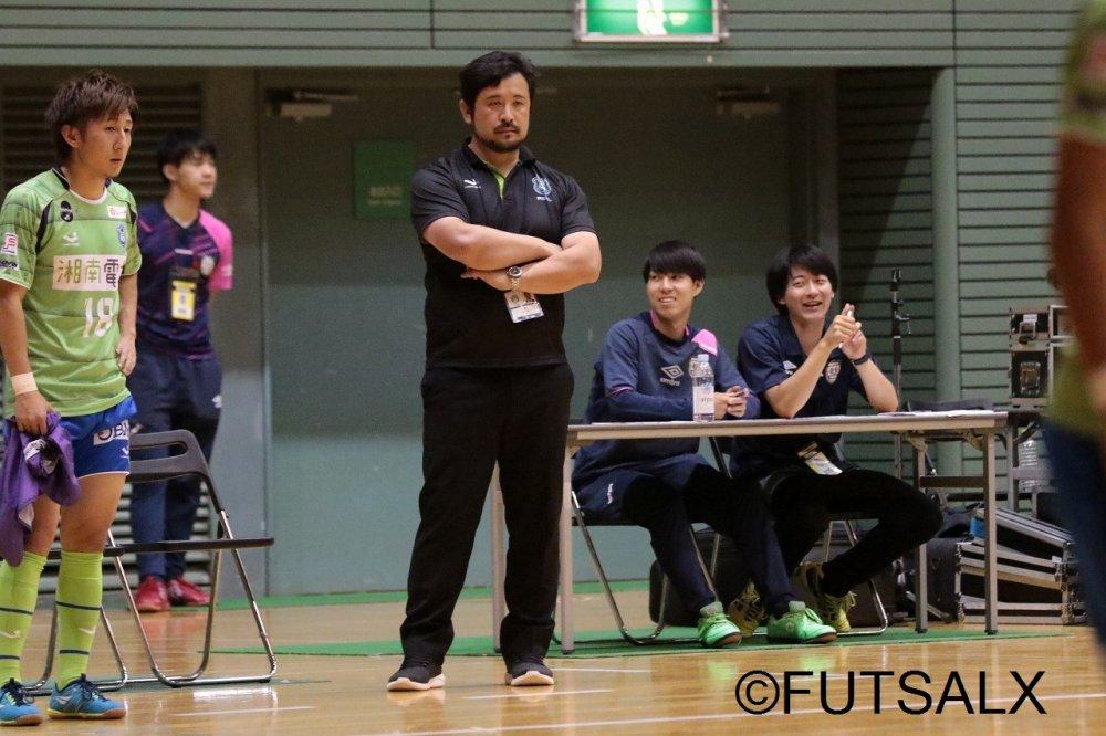 【F1】湘南が奥村敬人監督の続投を発表「フットサルに没頭する。どれだけ追求出来るか挑戦し続けます」