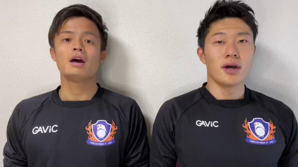 【F2】広島が2020-21シーズンの選手プロフィールを更新