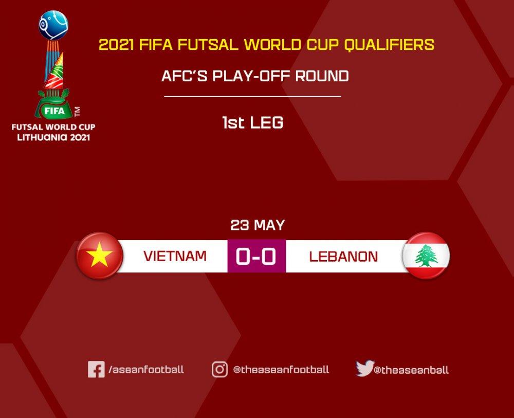 【W杯PO】ベトナムとレバノンの第1戦はどちらも譲らずにスコアレスドロー