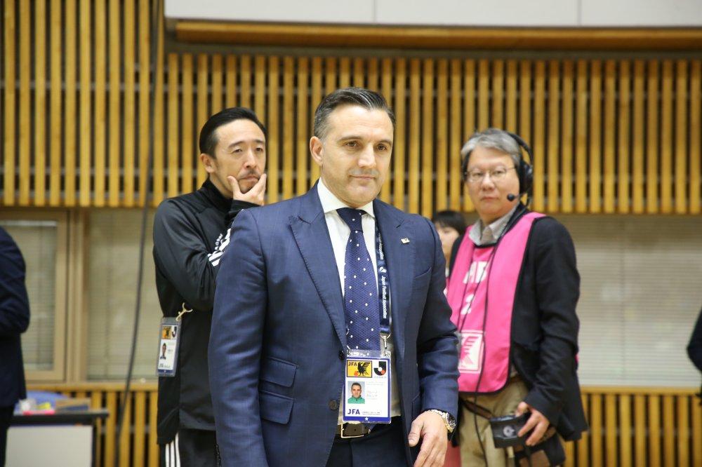 【日本代表】W杯組み合わせ決定 ブルーノ監督「やはり競争の激しいグループになった」
