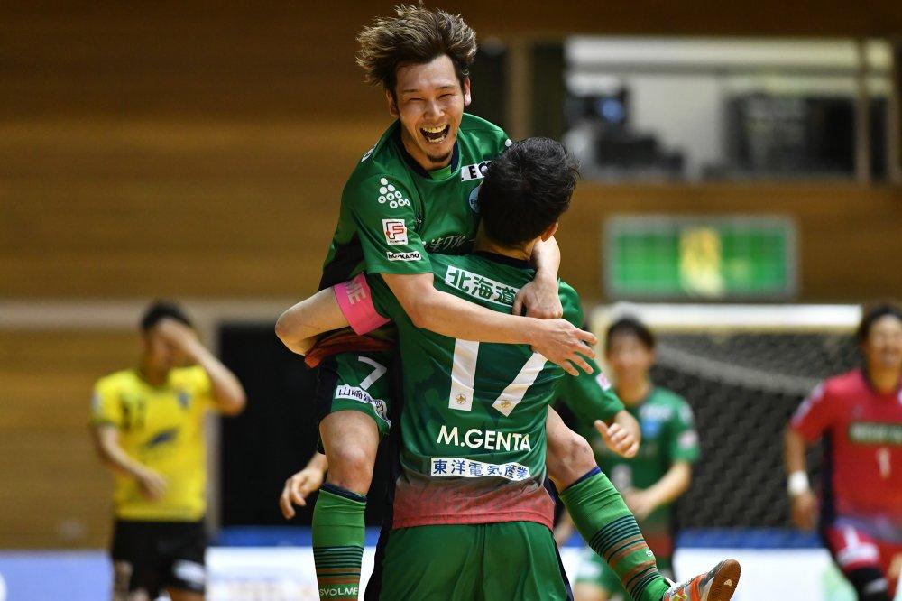【F1】北海道が町田から7得点を挙げて勝利! 室田祐希は2アシストで恩返し!