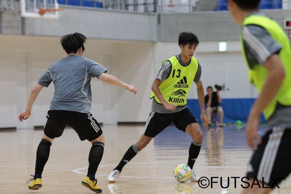 【日本代表】初招集で随所に持ち味を出したFP森洸「まずはチームで結果を出したい」