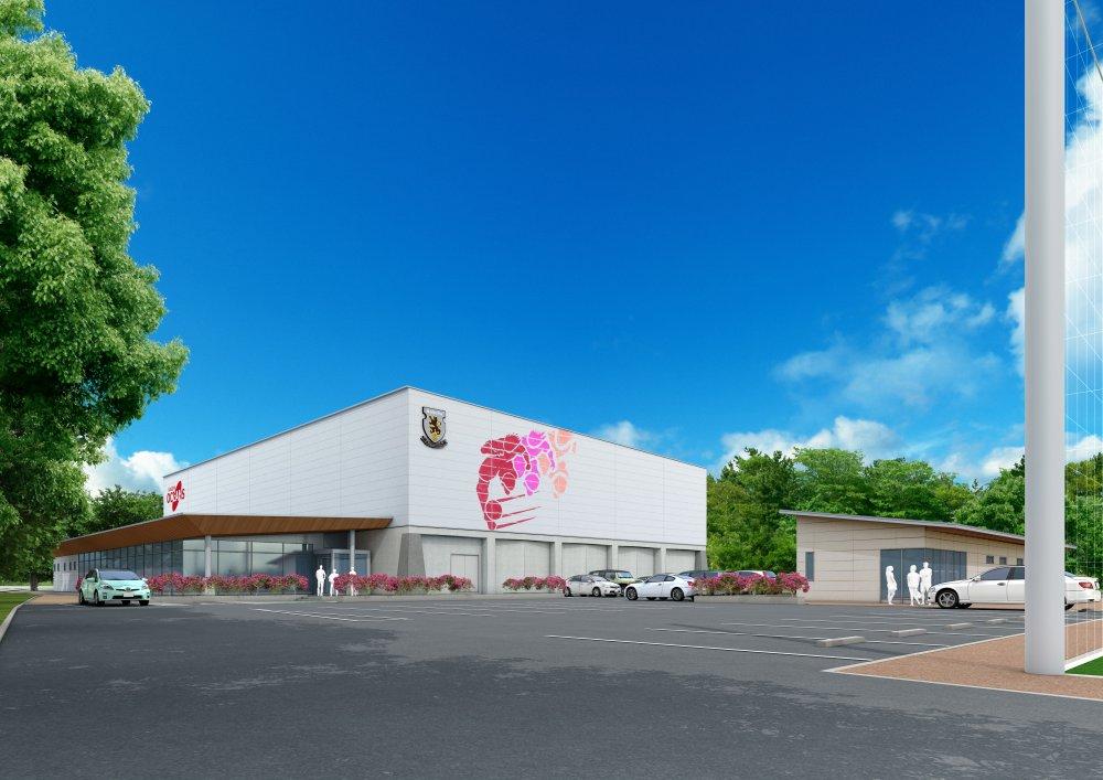 【F1】「世界一のチームへ」名古屋が新練習場の建設を開始! 来年4月に竣工予定